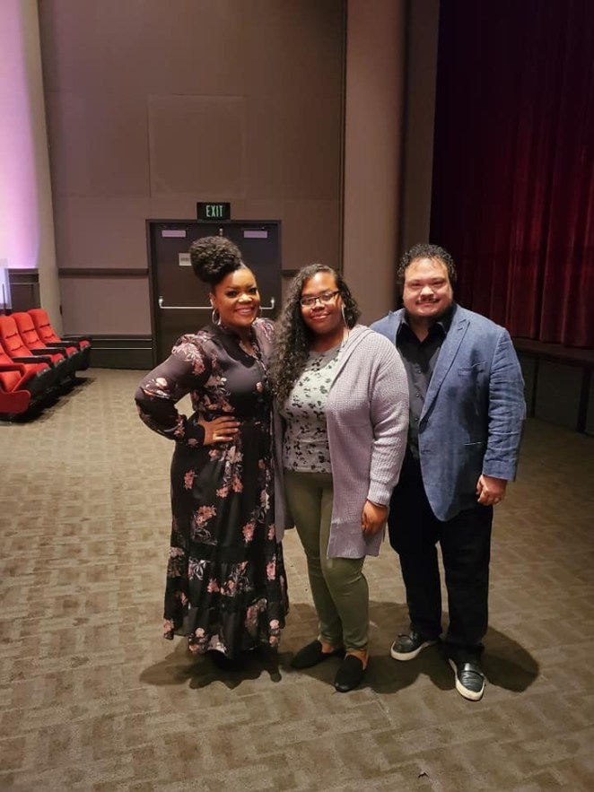 Meeting Yvette Nicole Brown from Disney Plus's Lady and The Tramp