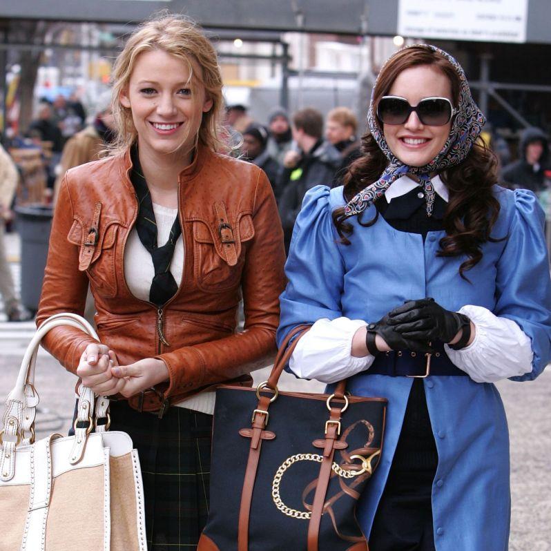 Gossip Girl - Serena and Blair