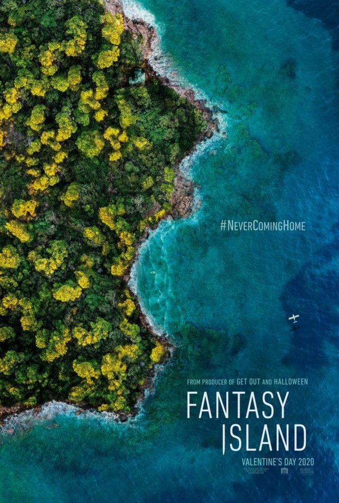 fantasy island movie poster