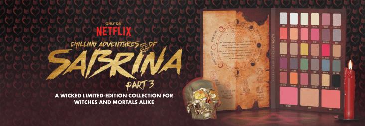 sabrina season 3 nyx cosmetics