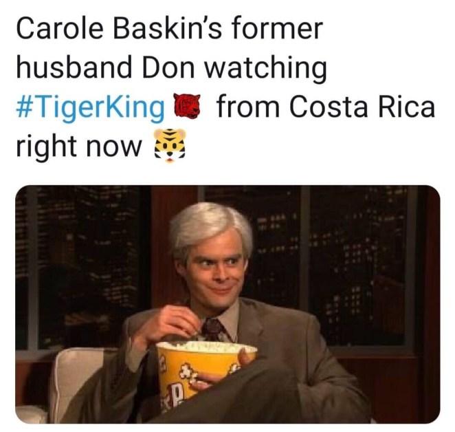 memes about carole baskin