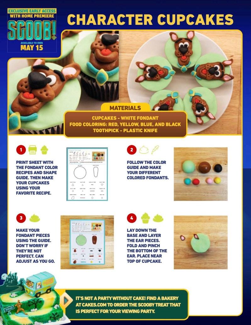 SCOOB Cupcakes Tutorial