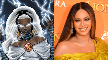Beyonce as storm in black panther 2