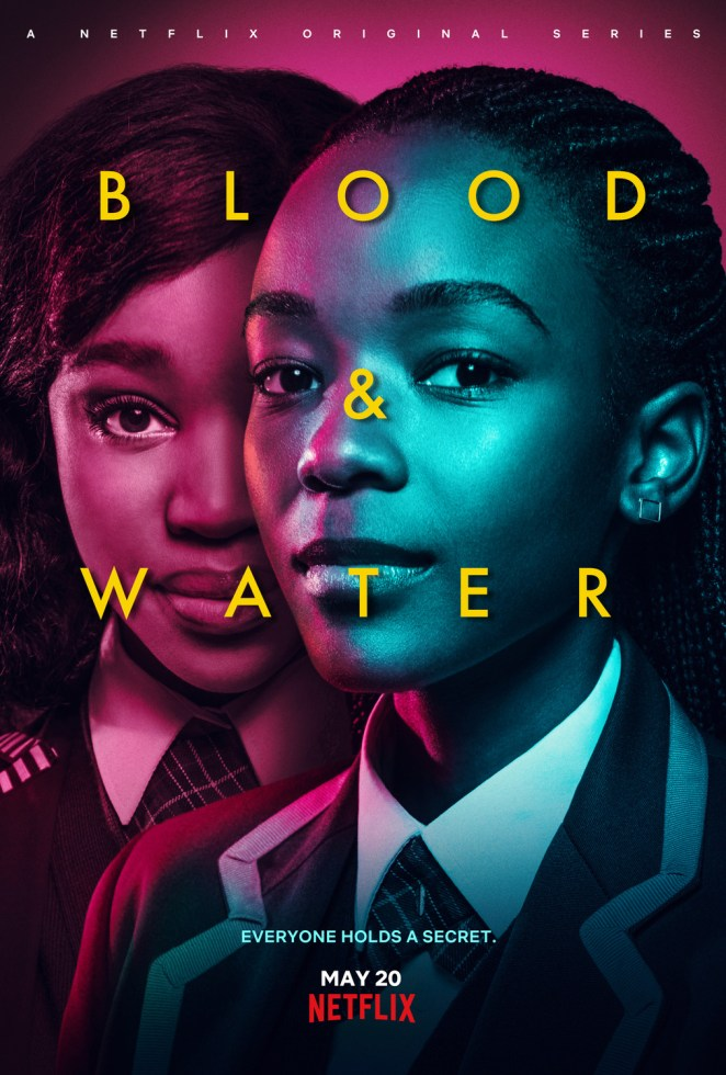 blood and water netflix poster
