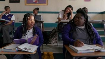 project powder netflix film dominique fishback