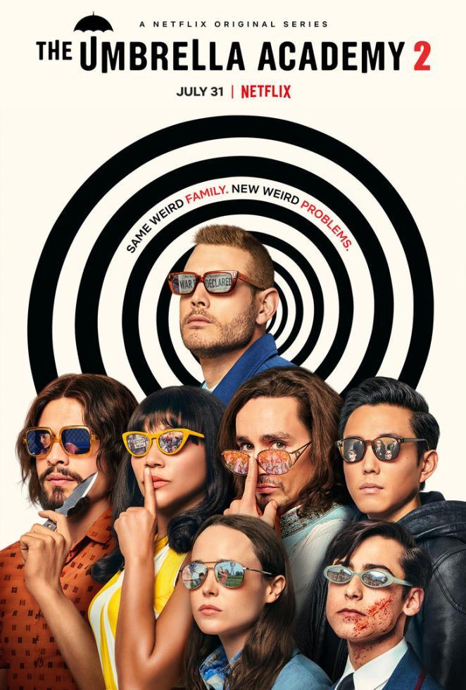 the umbrella academy season 2 poster