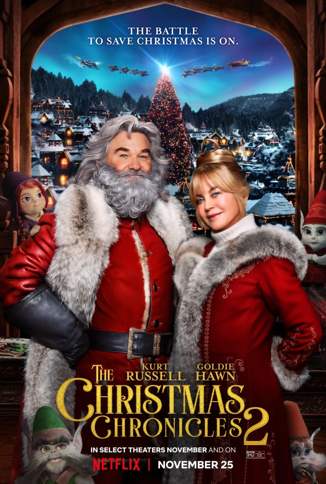 the christmas chronicles 2 netflix poster