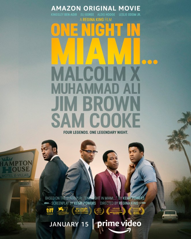 black movies 2021 one night in miami amazon prime video poster