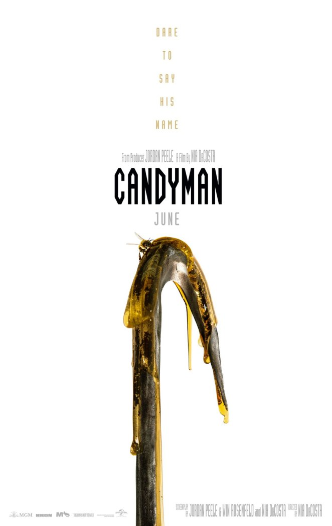 2021 movies list for 90s kids Candyman poster