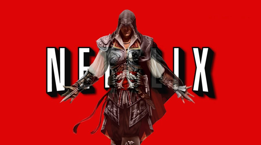ubisoft netflix assassin's creed série