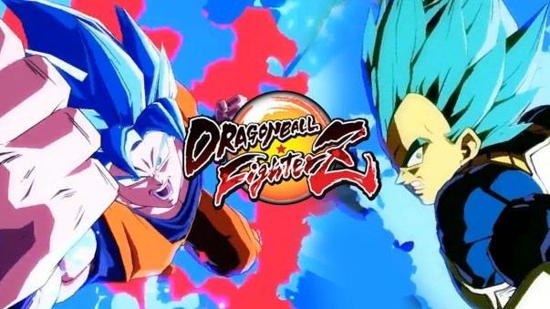 Dragon Ball Fighterz - Son Goku Super Saiyan Blue Vegeta Super Saiyan Blue