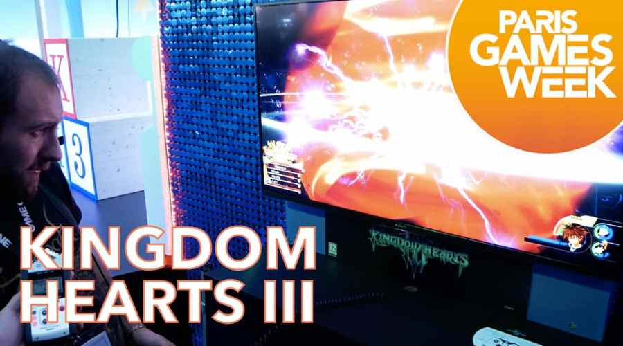 pgw 2018 - kingdom hearts III
