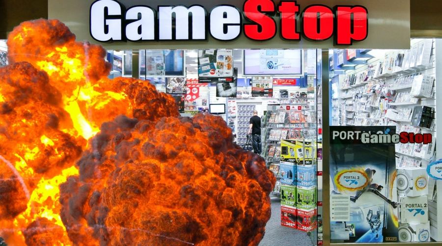 Gamestop magasin de jeux