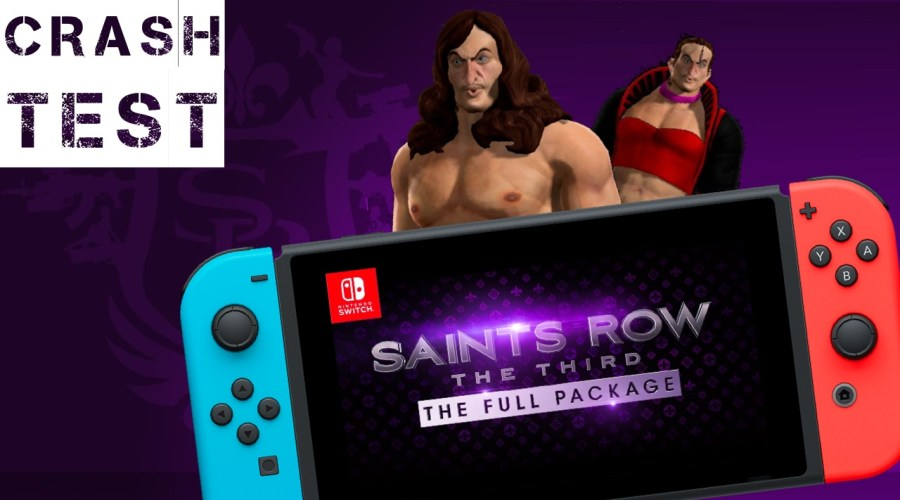 Crash test Saint row the third