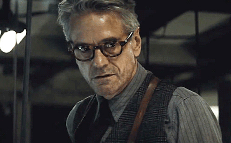 Alfred Batman With Glasses