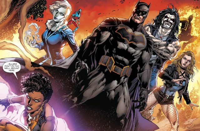 Justice League of America: The Road to Rebirth TPB, DC Comics