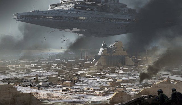 Rogue One: A Star Wars Story, Lucasfilm
