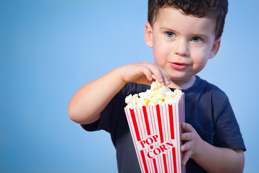When Can Kids Eat Popcorn