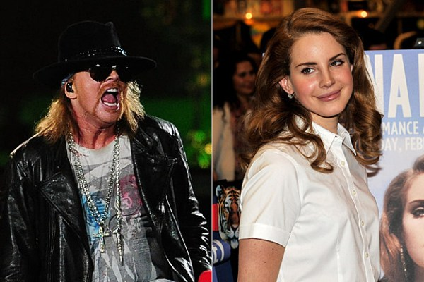Girlfriend Axl Rose 2012