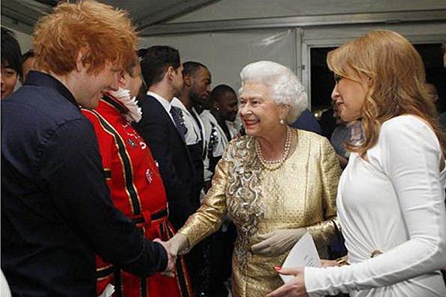 Ed Sheeran queen