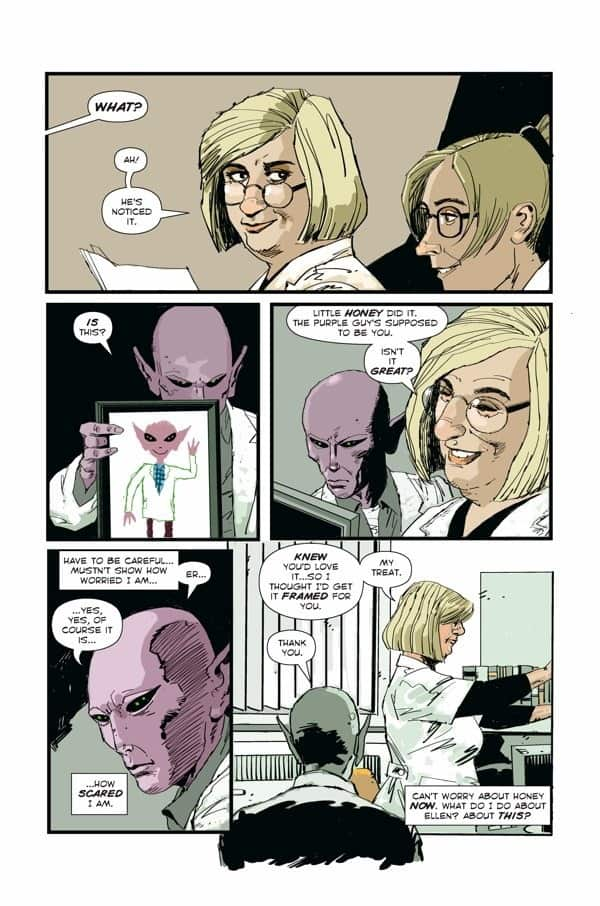 RESIDENT ALIEN AN ALIEN IN NEW YORK #1 page 3