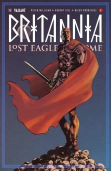 BRITANNIA: LOST EAGLES OF ROME – Cover B by Brian Thies