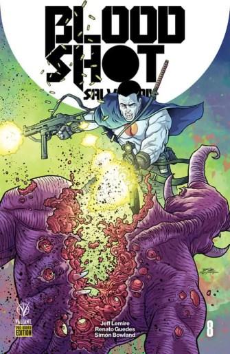 Bloodshot Salvation #8 - Pre-Order Edition by RYAN BODENHEIM