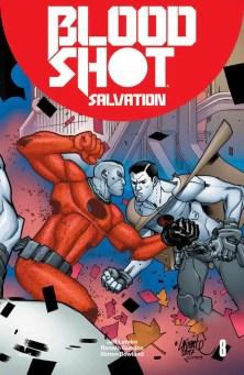 Bloodshot Salvation #8 - Interlocking Variant by DAVID LAFUENTE