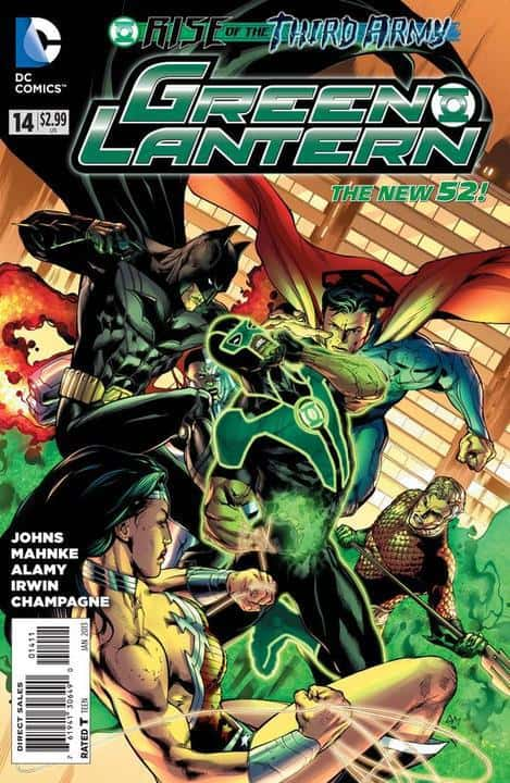 Green Lantern (2011) #14