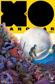 X-O Manowar Icon Variant by BARRY KITSON