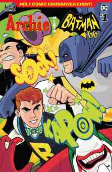ARCHIE MEETS BATMAN '66 #1 - Variant Cover by Derek Charm