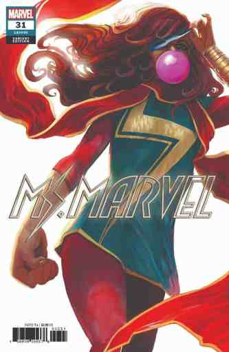 Ms. Marvel #31 - Variant Cover by Stephanie Hans