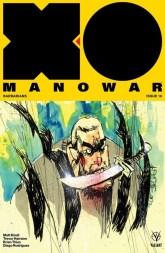 X-O Manowar #16 - Cover B by Jim Mahfood