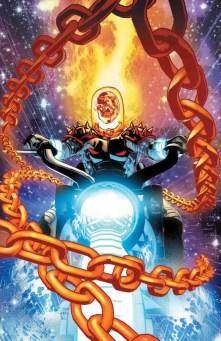 COSMIC GHOST RIDER #1 - Variant Cover by Mike Deodato Jr. & Edgar Delgado