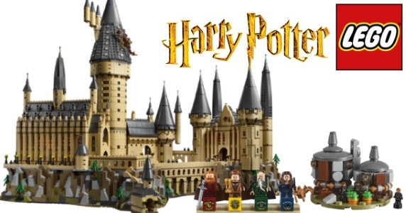 Build Your Own Hogwarts With This 'Harry Potter' LEGO Set!