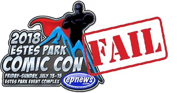 Estes Park Comic Con Header