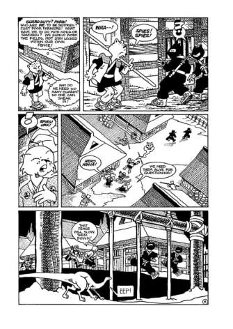 Usagi Yojimbo/ Teenage Mutant Ninja turtles