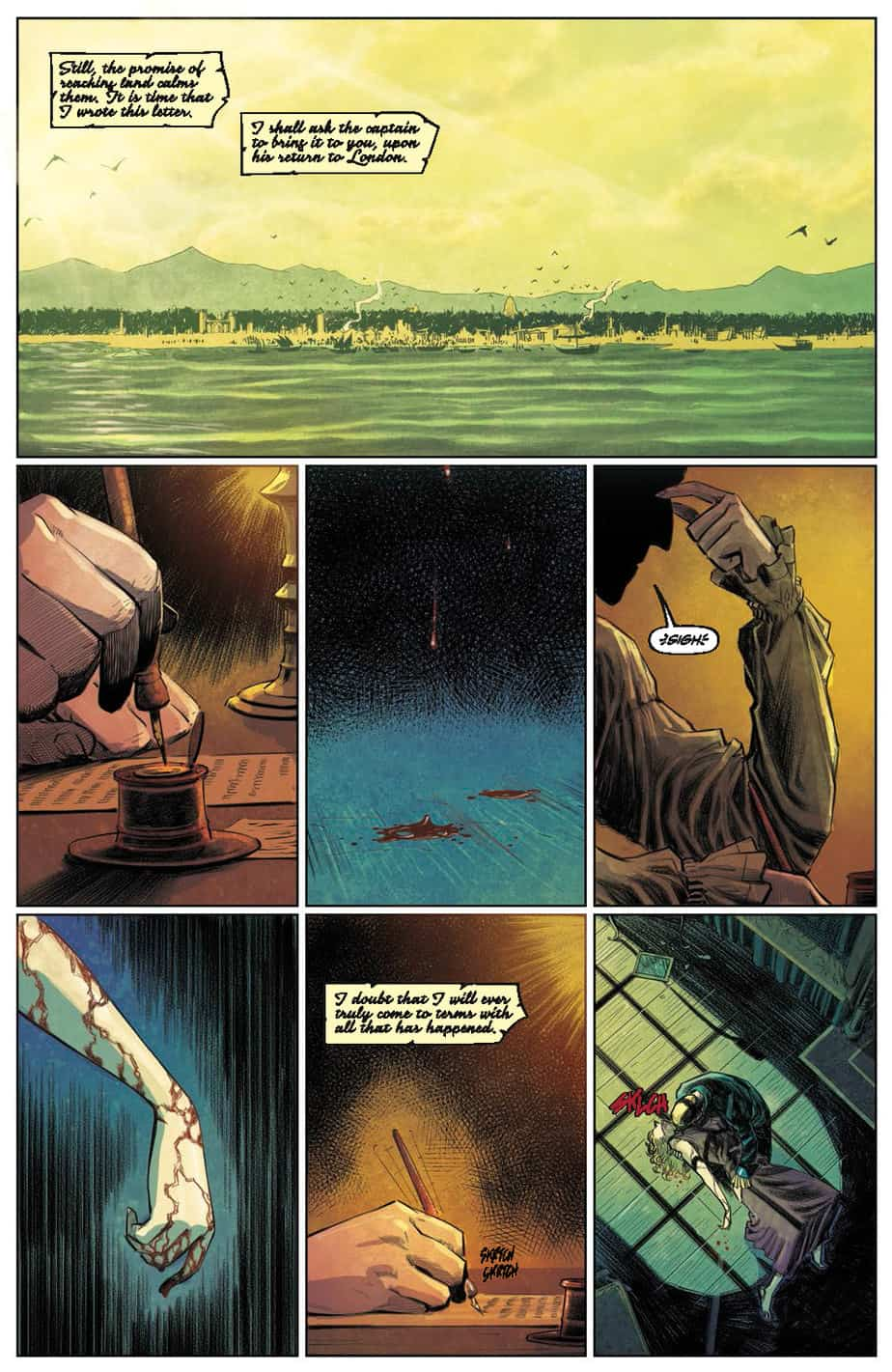 These Savage Shores #1 preview page 4