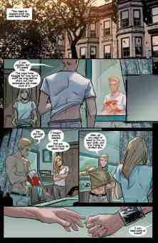 Witchblade #8 preview page 1