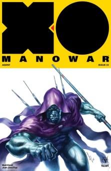 X-O MANOWAR (2017) #22 - Cover B by Alan Quah