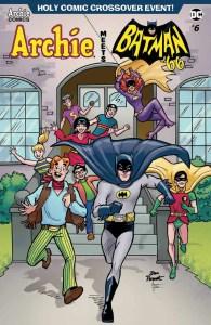 Archie Meets Batman '66 #6 - Variant Cover by Dan Parent