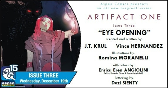 [Preview] Aspen Comics' 12/19 Release: ARTIFACT ONE #3