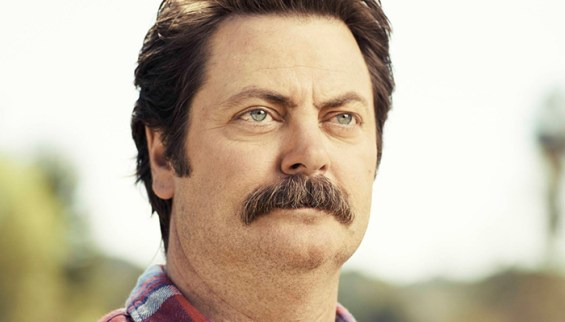 nick offerman mustache