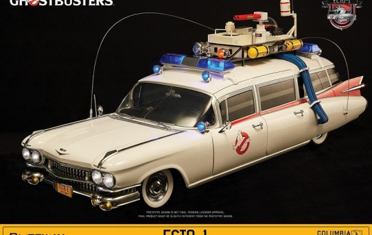 BLUEFIN Announces Stunning GHOSTBUSTERS ECTO-1 1/6 Massive Collectible