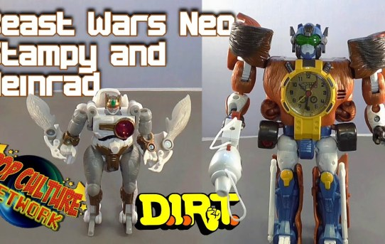 Formers Friday - Beast Wars Neo Stampy and Heinrad