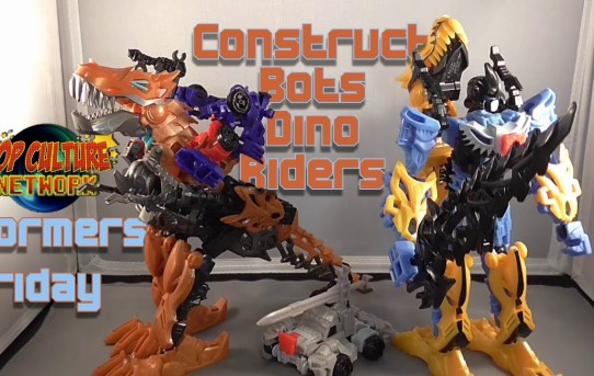 Formers Friday - Construct-Bots Dino Riders