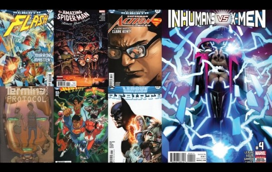 DiRT's Comic Book Reviews for February 8th, 2017