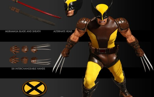 Mezco Toyz One:12 Collective Marvel Wolverine Brown Suit