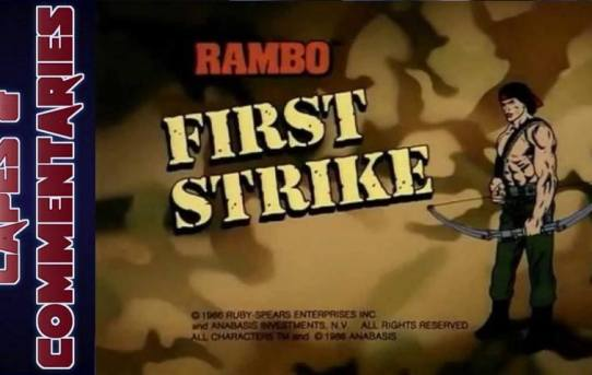 """Capes and Commentaries #16 - Rambo: The Force of Freedom """"First Strike"""""""