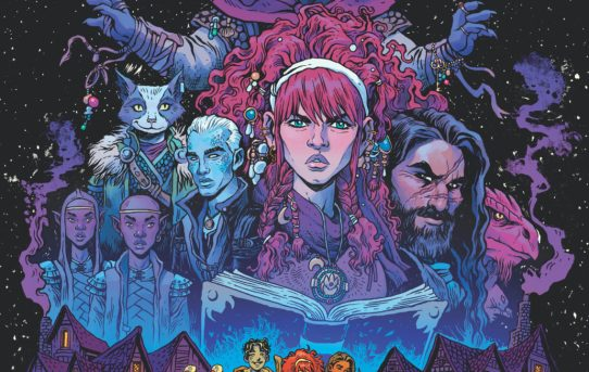 IDW Announces DUNGEONS & DRAGONS: A DARKENED WISH Comic Book Series